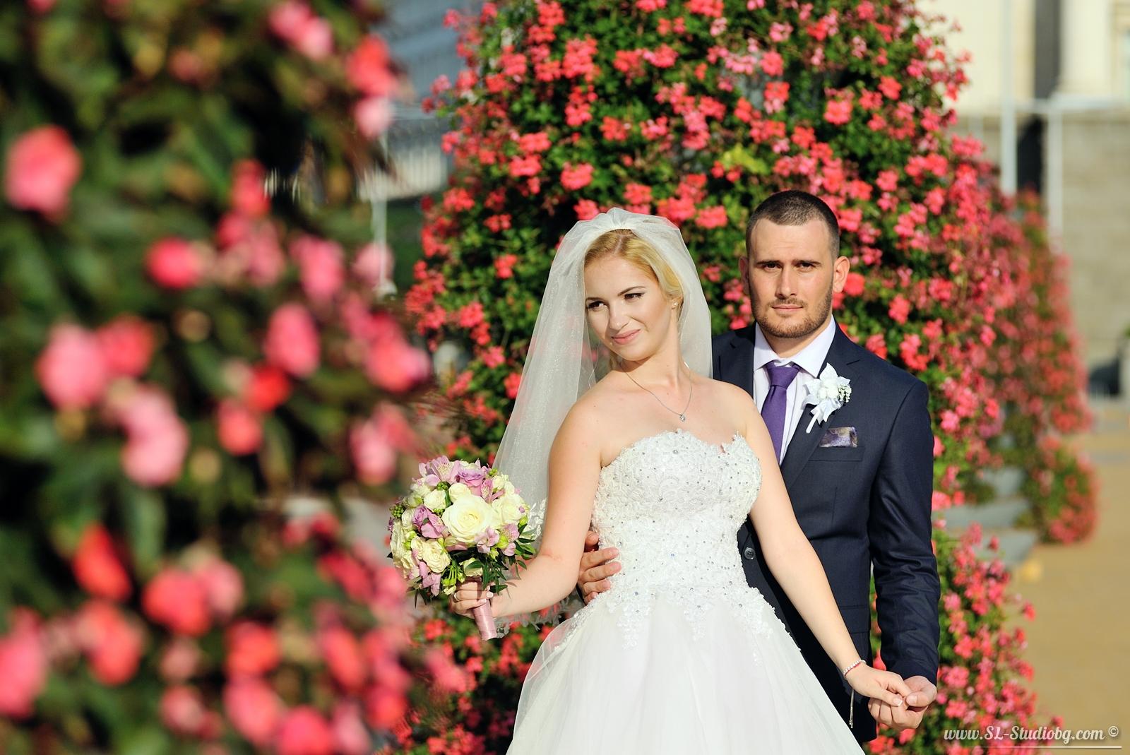 Сватбеният ден на София и Кирил