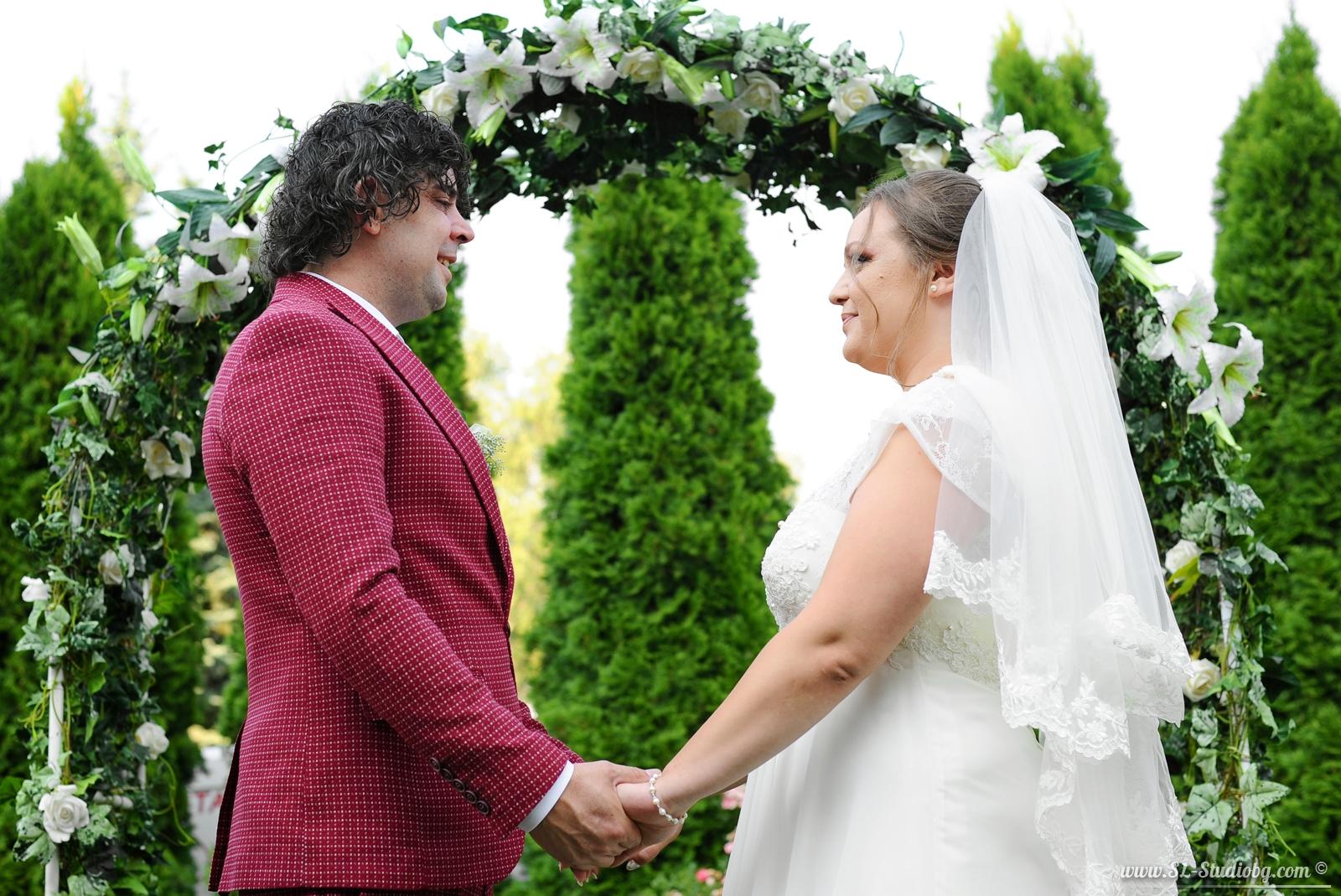 Сватбеният ден на Биляна и Росен