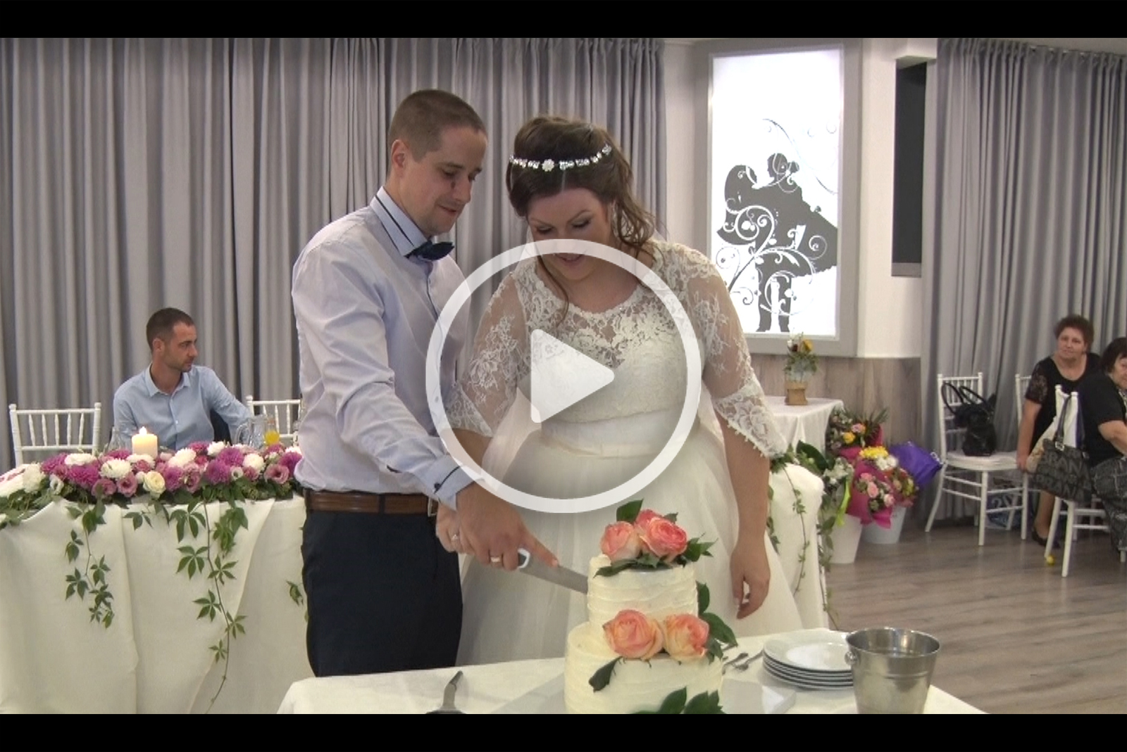 Видео с избрани моменти от сватбата на Тони и Митко