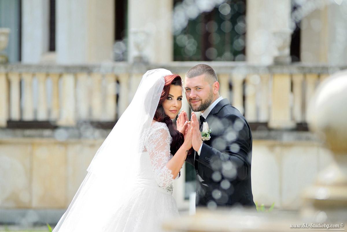 """Фотосесия в двореца """"Врана"""" – Силвия и Мартин"""